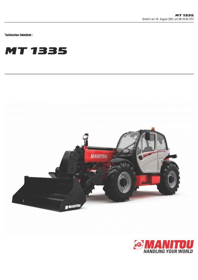 Manitou MT1335