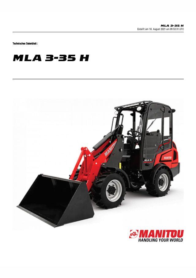 Manitou MLA 3-35