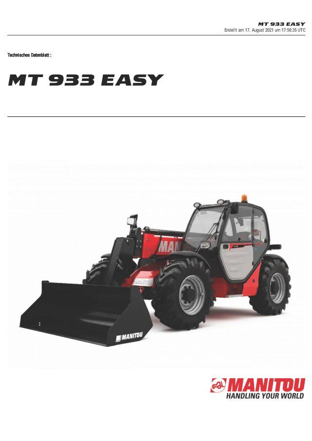 Manitou MT933 Easy