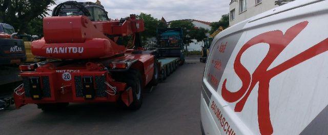 Baumaschinen-Service und Ersatzteile in Dresden, Radebeul und Pirna