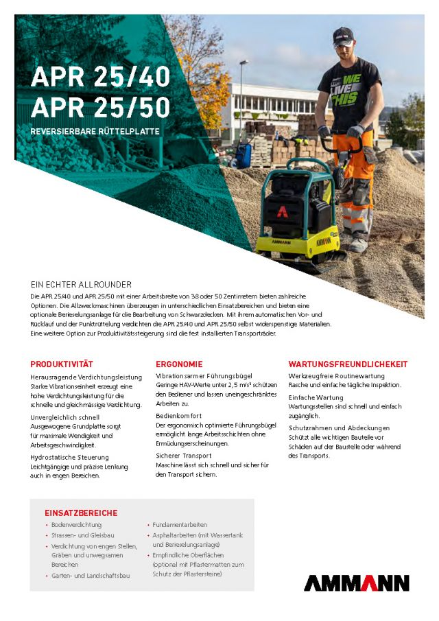 Ammann APR2550