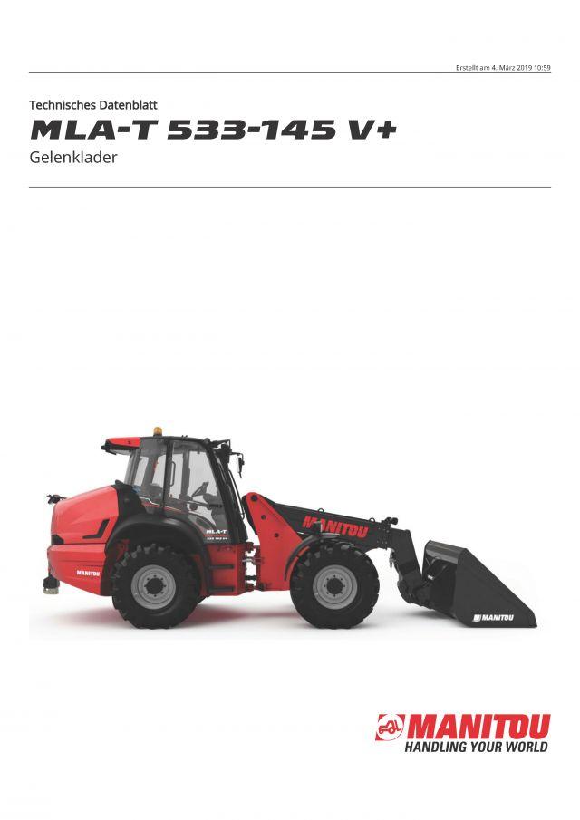 Manitou MLA-T 533-145V
