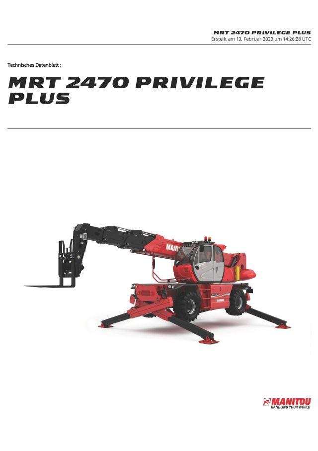 Manitou MRT2470