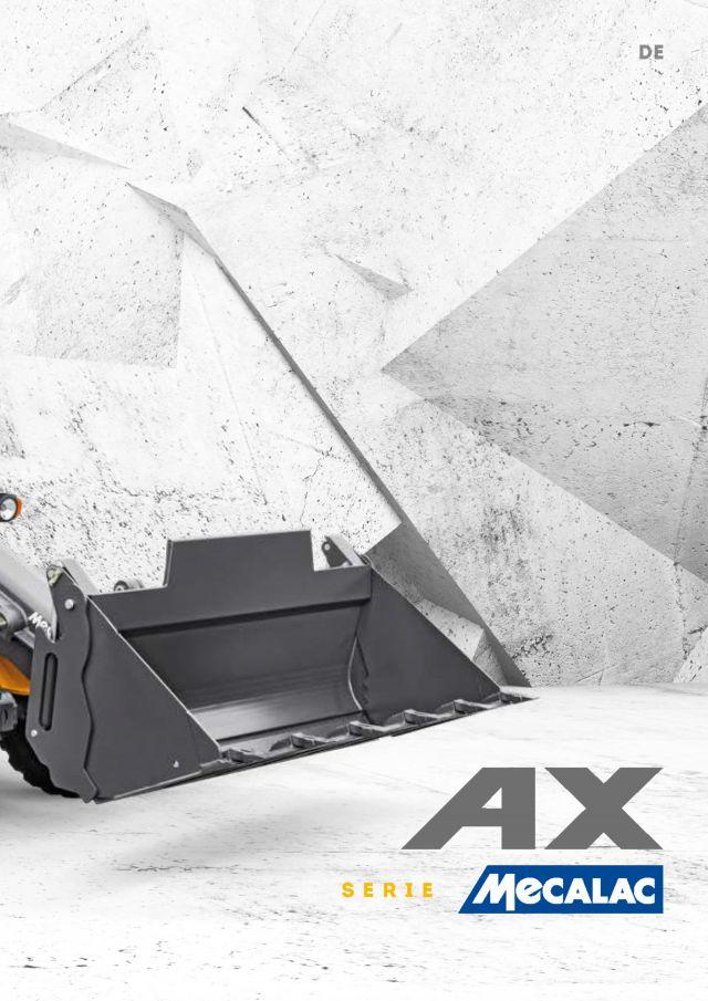 Mecalac AX700 AX850 AX1000