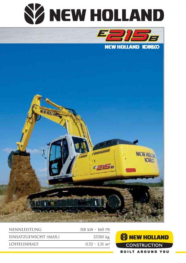 New Holland E215
