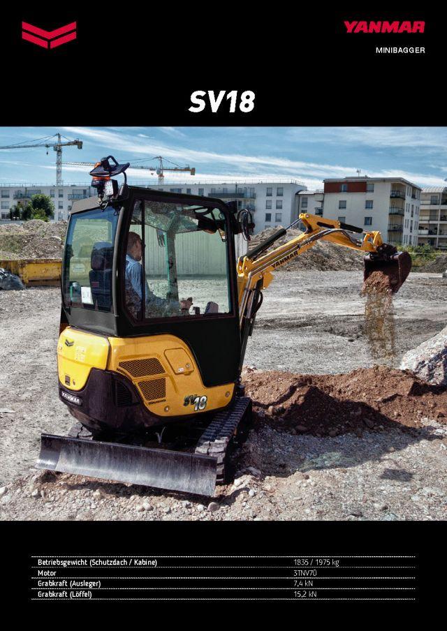 Yanmar SV18
