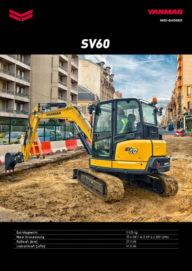 Yanmar SV60