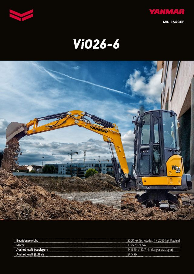 Yanmar ViO26