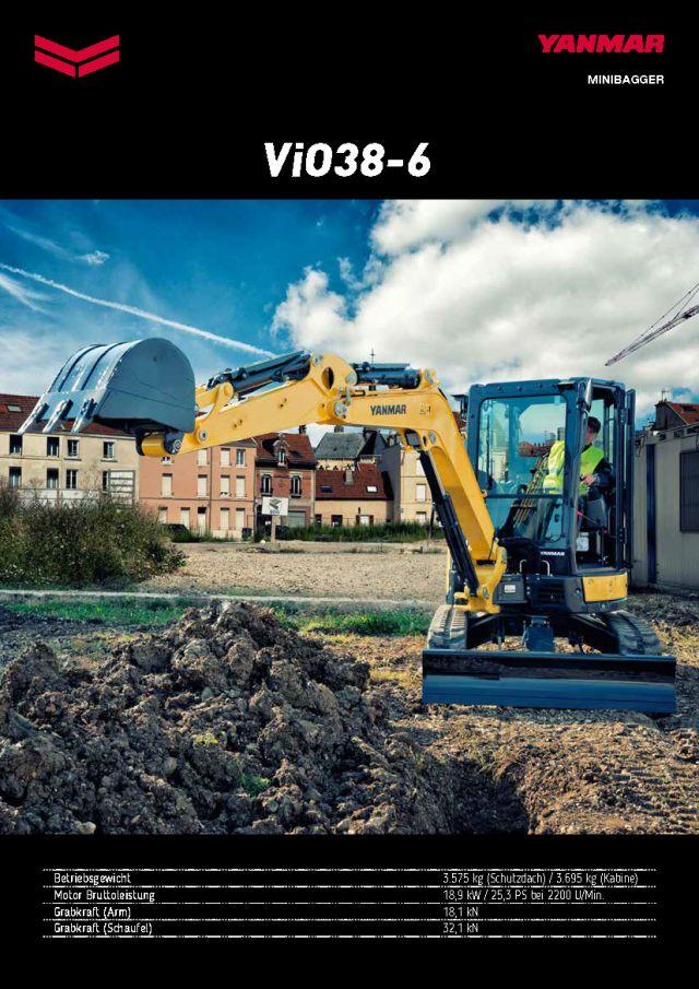 Yanmar ViO38-6