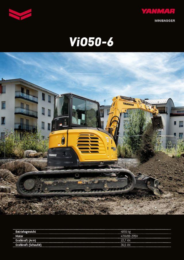 Yanmar ViO50-6